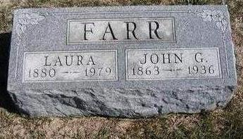 FARR, LAURA MAUD - Madison County, Iowa | LAURA MAUD FARR