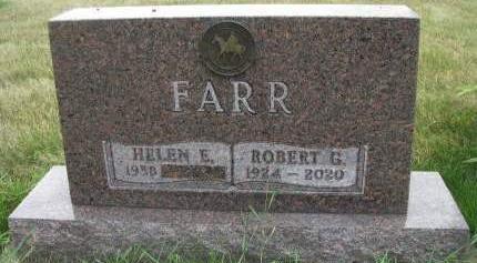 FARR, ROBERT G. - Madison County, Iowa | ROBERT G. FARR