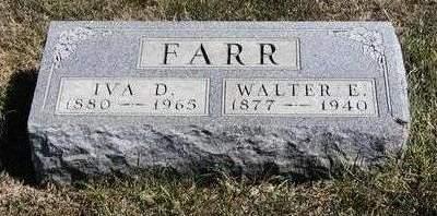 FARR, IVA DELL - Madison County, Iowa | IVA DELL FARR