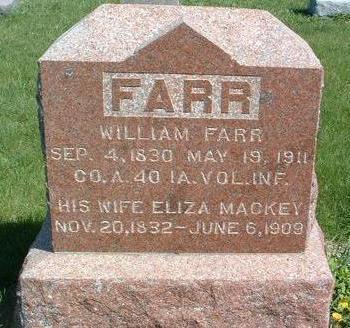 FARR, WILLIAM - Madison County, Iowa | WILLIAM FARR
