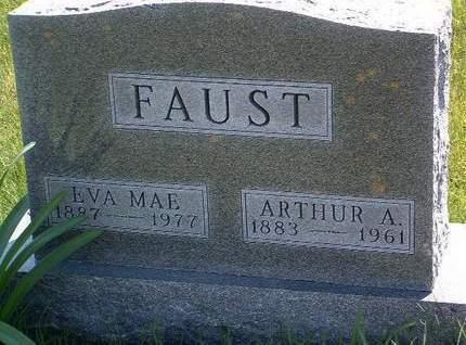 FAUST, ARTHUR ALDEN - Madison County, Iowa | ARTHUR ALDEN FAUST