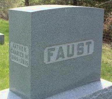 FAUST, CHARLES WESLEY - Madison County, Iowa | CHARLES WESLEY FAUST