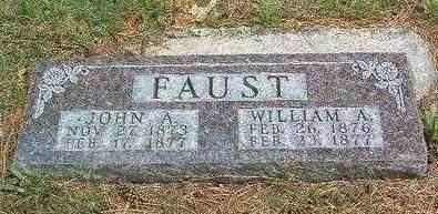FAUST, WILLIAM A. - Madison County, Iowa | WILLIAM A. FAUST