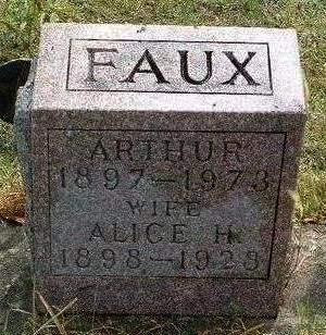 FAUX, ARTHUR OTIS - Madison County, Iowa | ARTHUR OTIS FAUX