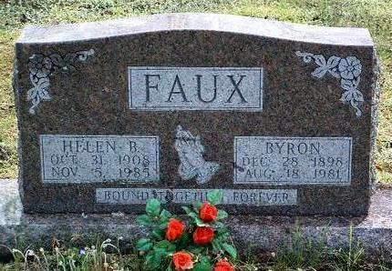 FAUX, HELEN BEATROCE - Madison County, Iowa | HELEN BEATROCE FAUX