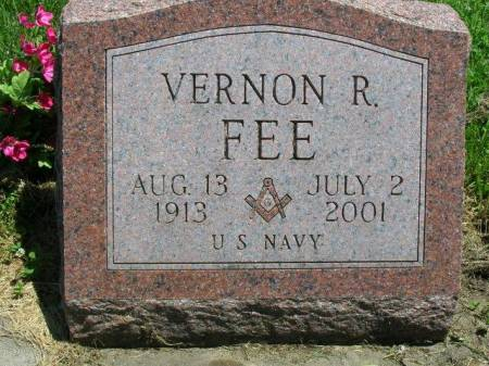 FEE, VERNON RICHARD - Madison County, Iowa | VERNON RICHARD FEE