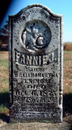 FENIMORE, FANNIE J. - Madison County, Iowa | FANNIE J. FENIMORE