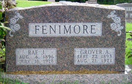 FENIMORE, GROVER ANDERSON - Madison County, Iowa | GROVER ANDERSON FENIMORE