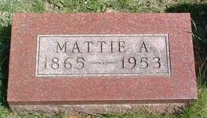 FENIMORE, MARTHA ADELINE - Madison County, Iowa   MARTHA ADELINE FENIMORE