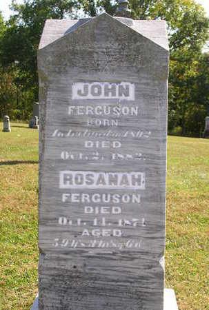 FERGUSON, ROSANAH - Madison County, Iowa | ROSANAH FERGUSON