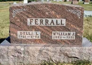 FERRALL, DELLA LUCRETIA - Madison County, Iowa | DELLA LUCRETIA FERRALL