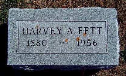 FETT, HARVEY ALBERT - Madison County, Iowa | HARVEY ALBERT FETT