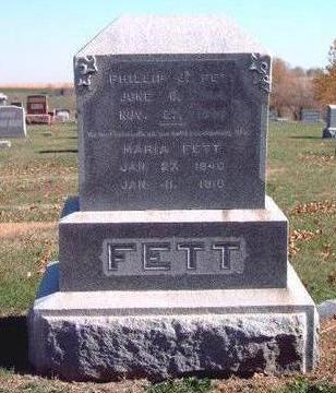 FETT, MARIA - Madison County, Iowa | MARIA FETT