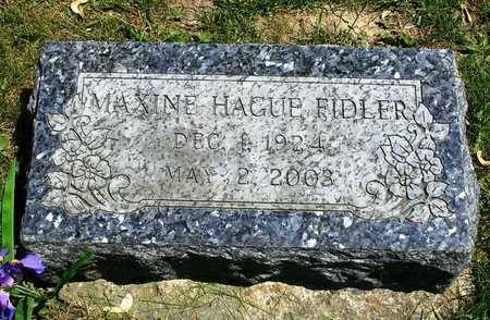 FIDLER, MAXINE - Madison County, Iowa | MAXINE FIDLER