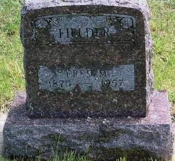 FIELDER, FREDERICK MARTIN (FRED) FIELDER - Madison County, Iowa   FREDERICK MARTIN (FRED) FIELDER FIELDER