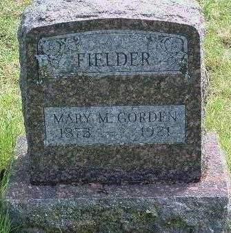 GORDEN FIELDER, MARY MAUD - Madison County, Iowa | MARY MAUD GORDEN FIELDER