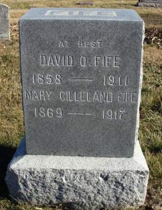 FIFE, DAVID OLIVER - Madison County, Iowa | DAVID OLIVER FIFE