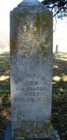 FIFE, GEORGE - Madison County, Iowa   GEORGE FIFE