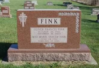 FINK, OLIVER FRANCIS - Madison County, Iowa   OLIVER FRANCIS FINK