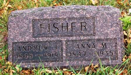 FISHER, ANDREW JACKSON - Madison County, Iowa | ANDREW JACKSON FISHER