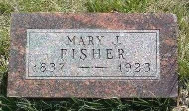 FISHER, MARY JANE - Madison County, Iowa   MARY JANE FISHER