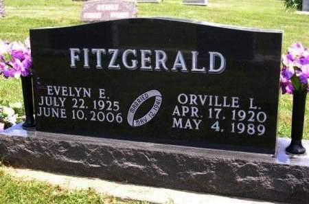 FITZGERALD, ORVILLE LEROY - Madison County, Iowa | ORVILLE LEROY FITZGERALD
