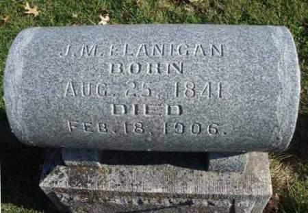 FLANIGAN, JOHN M. - Madison County, Iowa   JOHN M. FLANIGAN