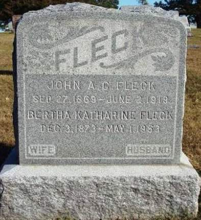 FLECK, JOHN ADAMS CURTIS - Madison County, Iowa | JOHN ADAMS CURTIS FLECK