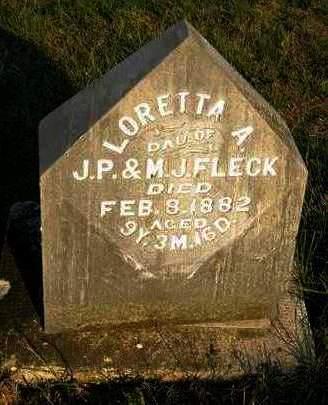 FLECK, LORETTA A. - Madison County, Iowa | LORETTA A. FLECK