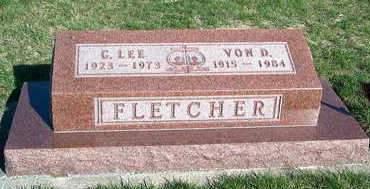 FLETCHER, VON D. - Madison County, Iowa | VON D. FLETCHER