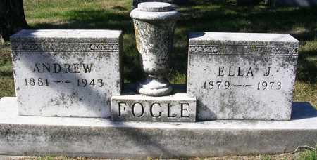 FOGLE, ELLA JANE - Madison County, Iowa | ELLA JANE FOGLE