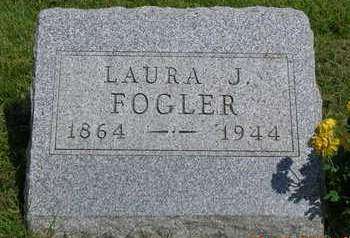 FOGLER, LAURA JENNIE - Madison County, Iowa | LAURA JENNIE FOGLER