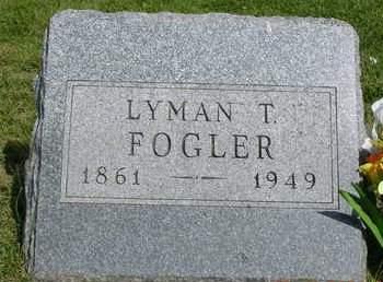 FOGLER, LYMAN TRUMBULL - Madison County, Iowa | LYMAN TRUMBULL FOGLER