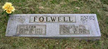 FOLWELL, VIRGIE FERN - Madison County, Iowa | VIRGIE FERN FOLWELL