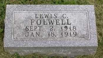 FOLWELL, LEWIS CLIFFORD - Madison County, Iowa   LEWIS CLIFFORD FOLWELL