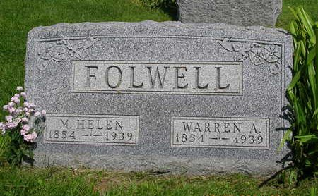 FOLWELL, MARTHA HELEN - Madison County, Iowa | MARTHA HELEN FOLWELL