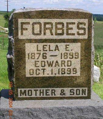 FORBES, LELA ETHEL - Madison County, Iowa | LELA ETHEL FORBES
