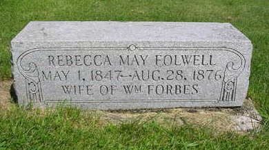 FORBES, REBECCA MAY - Madison County, Iowa | REBECCA MAY FORBES
