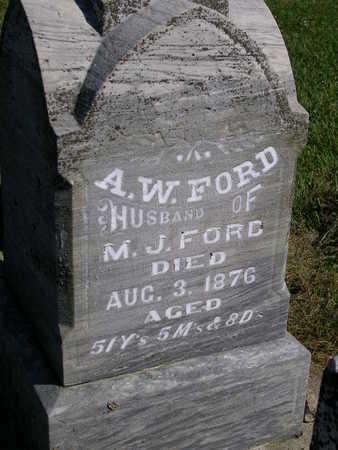 FORD, AMOS W. - Madison County, Iowa | AMOS W. FORD