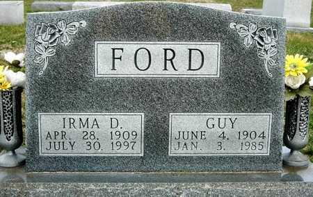 FORD, IRMA D. - Madison County, Iowa | IRMA D. FORD
