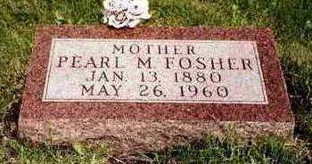 FOSHER, PEARL MABEL - Madison County, Iowa | PEARL MABEL FOSHER