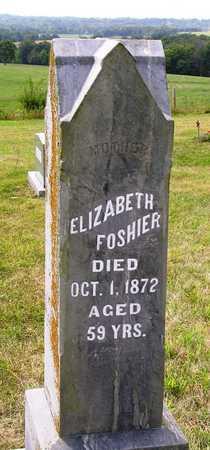 FOSHIER, ELIZABETH - Madison County, Iowa | ELIZABETH FOSHIER