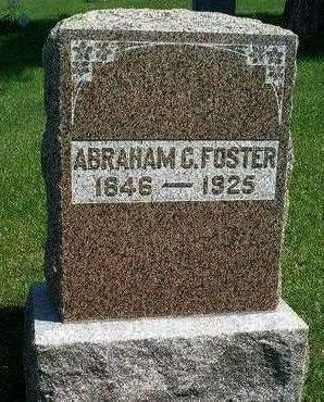 FOSTER, ABRAHAM C. - Madison County, Iowa | ABRAHAM C. FOSTER