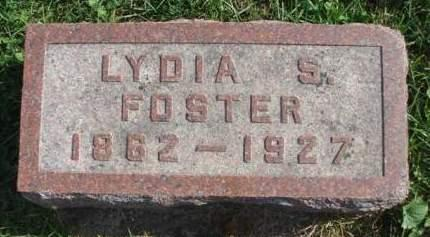 FOSTER, LYDIA STAFFORD - Madison County, Iowa | LYDIA STAFFORD FOSTER