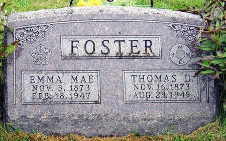 FOSTER, EMMA MAE - Madison County, Iowa | EMMA MAE FOSTER