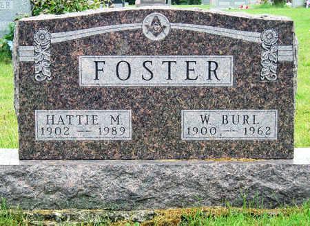 FOSTER, HATTIE MILDRED - Madison County, Iowa   HATTIE MILDRED FOSTER