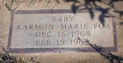 FOX, KARMON MARIE - Madison County, Iowa | KARMON MARIE FOX