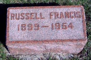 FRANCIS, WILLIAM RUSSELL - Madison County, Iowa | WILLIAM RUSSELL FRANCIS