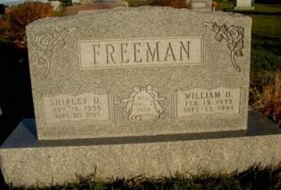 FREEMAN, SHIRLEY DARLENE - Madison County, Iowa | SHIRLEY DARLENE FREEMAN