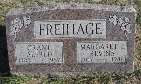 FREIHAGE, GRANT ALFRED - Madison County, Iowa | GRANT ALFRED FREIHAGE